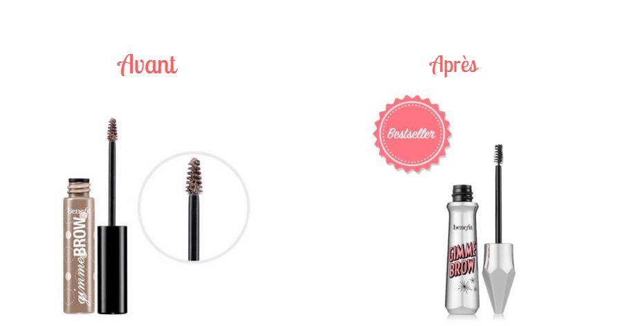 Gimme brow Benefit Sephora Avant-Après