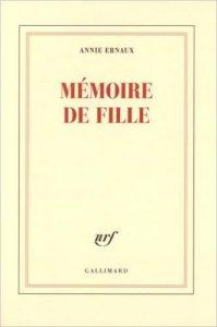 Memoires de filles Annie Ernaux